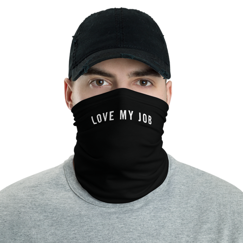 Default Title Love My Job Neck Gaiter Masks by Design Express