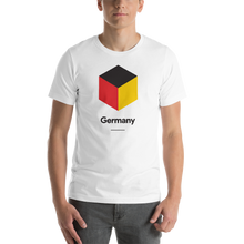 "White / S Germany ""Cubist"" Unisex T-Shirt by Design Express"