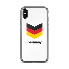 "iPhone X Germany ""Chevron"" iPhone Case iPhone Cases by Design Express"