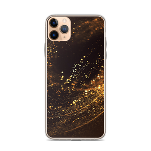 iPhone 11 Pro Max Gold Swirl iPhone Case by Design Express