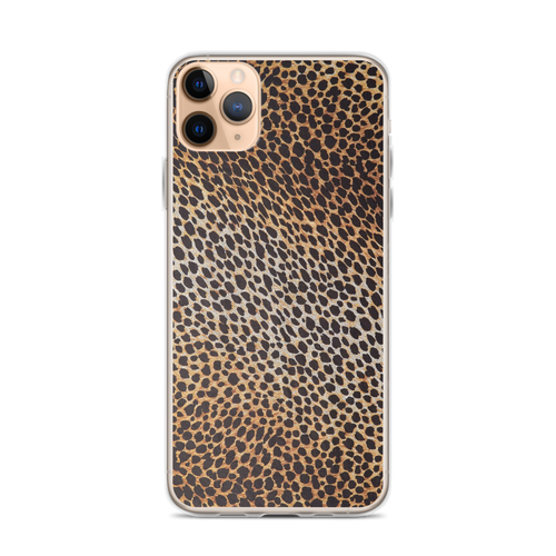 iPhone 11 Pro Max Leopard Brown Pattern iPhone Case by Design Express