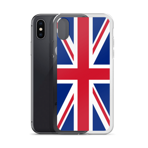 "United Kingdom Flag ""Solo"" iPhone Case"