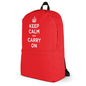 Keep Calm and Carry On 01 Backpack by Design Express