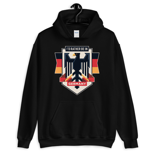 Black / S Eagle Germany Unisex Hoodie by Design Express