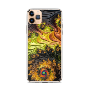 iPhone 11 Pro Max Colourful Fractals iPhone Case by Design Express