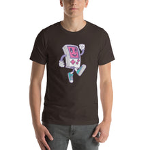 Game Boy Happy Walking Short-Sleeve Unisex T-Shirt