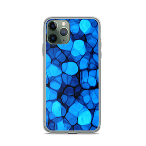 iPhone 11 Pro Crystalize Blue iPhone Case by Design Express