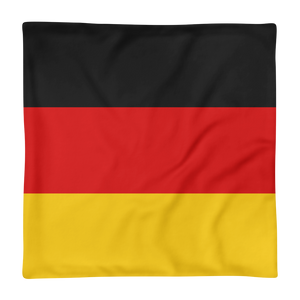 Germany Flag Square Pillow Case only by Design Express