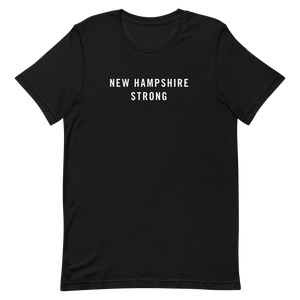 New Hampshire Strong Unisex T-Shirt T-Shirts by Design Express
