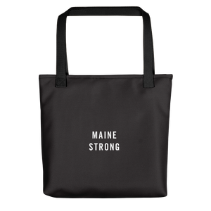 Default Title Maine Strong Tote bag by Design Express