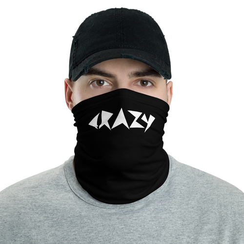 Default Title Crazy Abstract Type Neck Gaiter Masks by Design Express