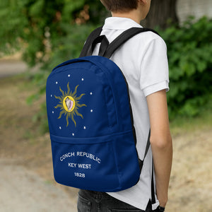 Key West Conch Republic Flag Allover Backpack