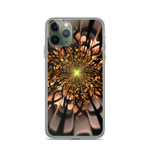 iPhone 11 Pro Abstract Flower 02 iPhone Case by Design Express