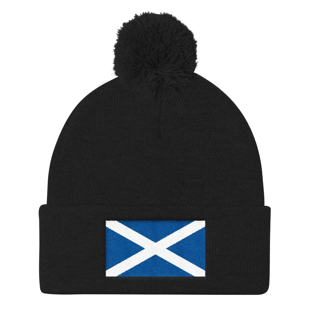 Black Scotland Flag