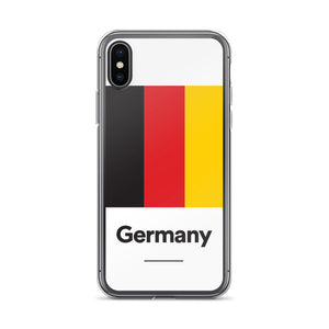 "iPhone X Germany ""Block"" iPhone Case iPhone Cases by Design Express"