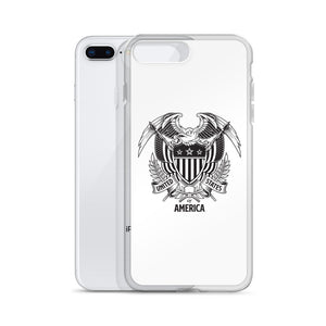 United States Of America Eagle Illustration iPhone Case iPhone Cases by Design Express