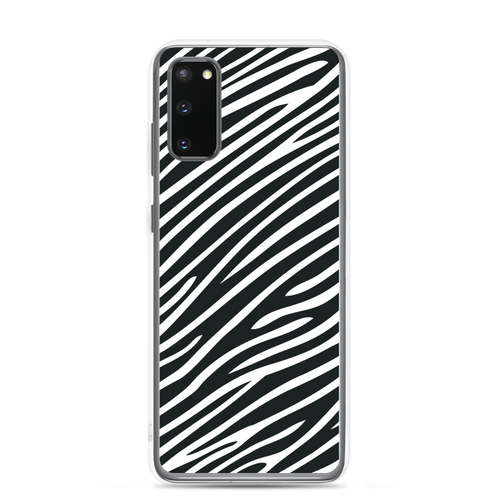 Samsung Galaxy S20 Zebra Print Samsung Case by Design Express