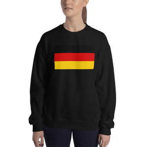 Black / S Germany Flag Sweatshirt by Design Express