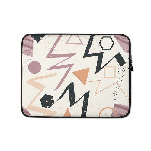 13 in Mix Geometrical Pattern 02 Laptop Sleeve by Design Express