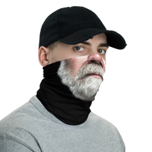 Bearded Man Neck Gaiter Masks by Design Express