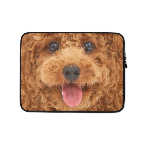 13 in Poodle Dog Laptop Sleeve by Design Express