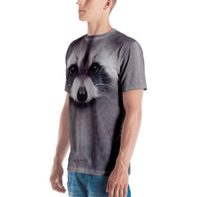 "Racoon ""All Over Animal"" Men's T-shirt All Over T-Shirts by Design Express"