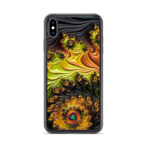 iPhone XS Max Colourful Fractals iPhone Case by Design Express