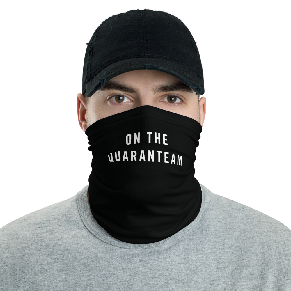 Default Title On The Quaranteam Neck Gaiter Masks by Design Express