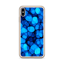 Crystalize Blue iPhone Case by Design Express
