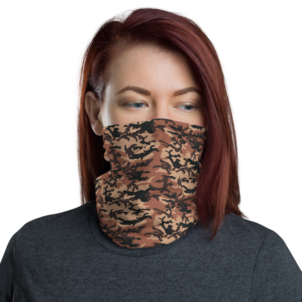 Default Title Brown Camo Neck Gaiter Masks by Design Express