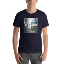 Navy / XS Chicago Unisex T-Shirt by Design Express