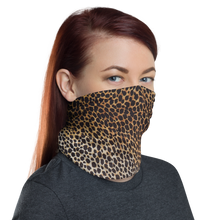 Leopard Brown Pattern Neck Gaiter Masks by Design Express