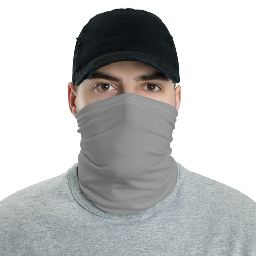 Default Title Grey Neck Gaiter Masks by Design Express