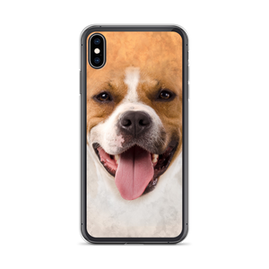 iPhone XS Max Pit Bull Dog iPhone Case by Design Express