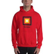 "Red / S Germany ""Frame"" Hooded Sweatshirt by Design Express"