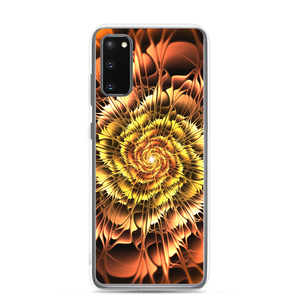 Samsung Galaxy S20 Abstract Flower 01 Samsung Case by Design Express