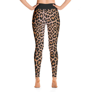 "Leopard ""All Over Animal"" 2 Yoga Leggings by Design Express"