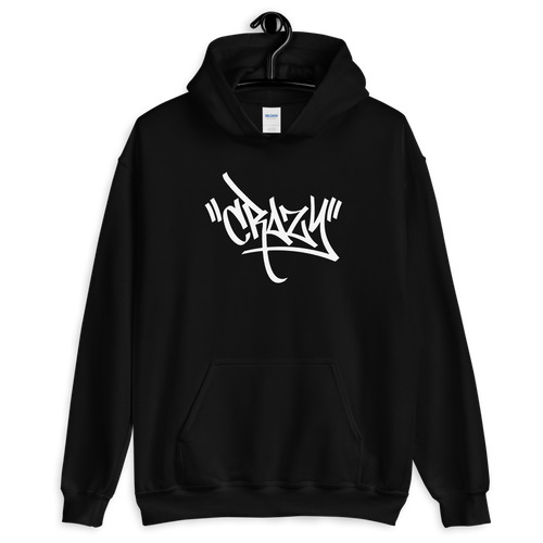 S Crazy Graffiti Unisex Hoodie by Design Express