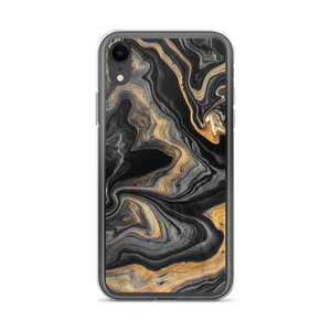 iPhone XR Black Marble iPhone Case by Design Express