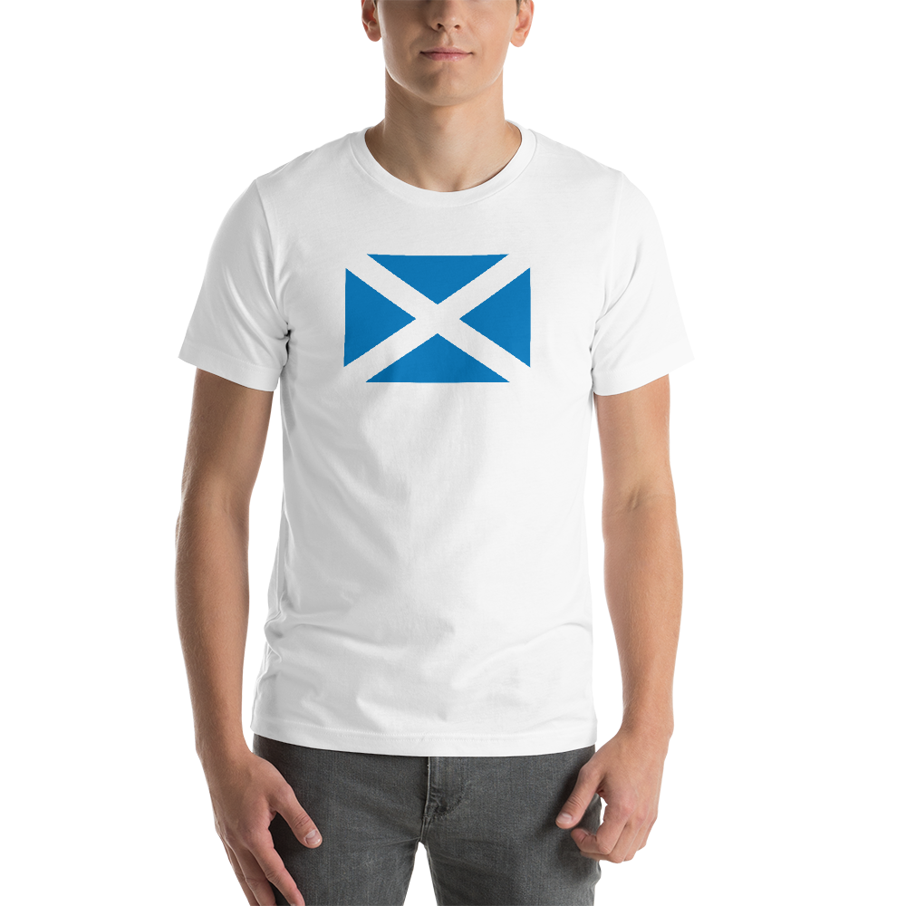 White / S Scotland Flag