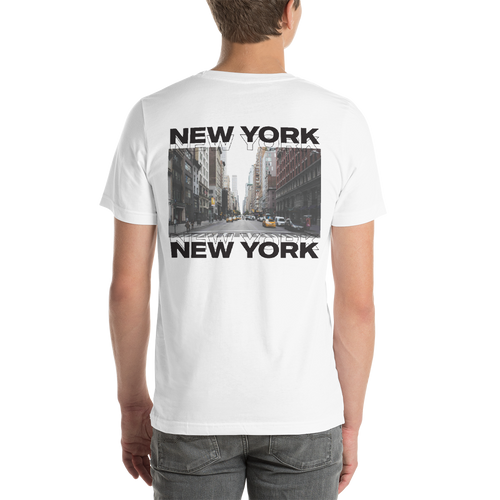 New York Unisex White T-Shirt by Design Express