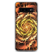 Samsung Galaxy S10+ Abstract Flower 01 Samsung Case by Design Express