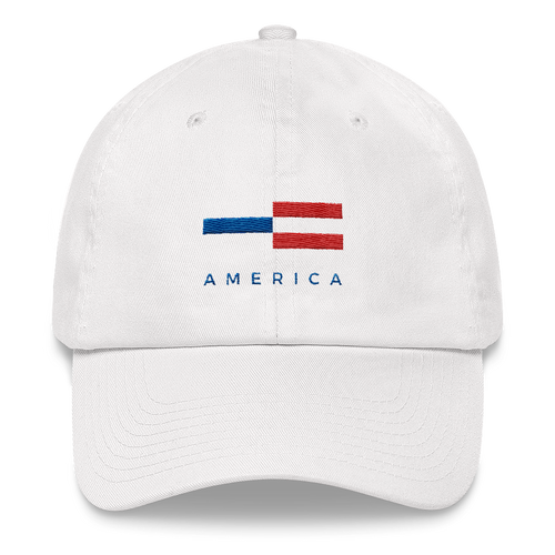 Default Title America Tower Pattern Baseball Cap Baseball Caps by Design Express
