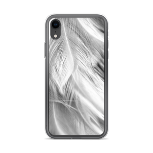 iPhone XR White Feathers iPhone Case by Design Express