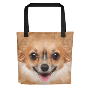 "Black Chihuahua ""All Over Animal"" Tote bag Totes by Design Express"