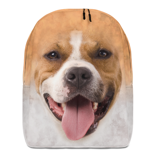 Default Title Pit Bull Dog Minimalist Backpack by Design Express