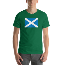 "Kelly / S Scotland Flag ""Solo"" Short-Sleeve Unisex T-Shirt by Design Express"