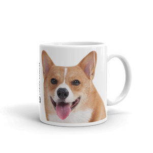 Default Title Corgi Dog Mug Mugs by Design Express