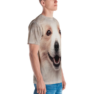 "Border Collie 03 ""All Over Animal"" Men's T-shirt All Over T-Shirts by Design Express"