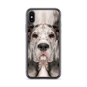 iPhone X/XS Great Dane Dog iPhone Case by Design Express